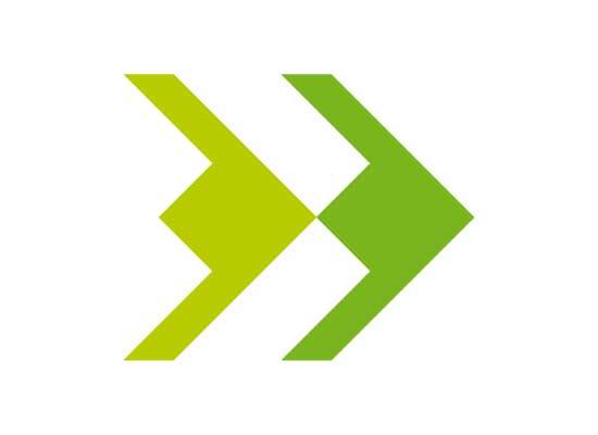 Logo Doppelpfeil