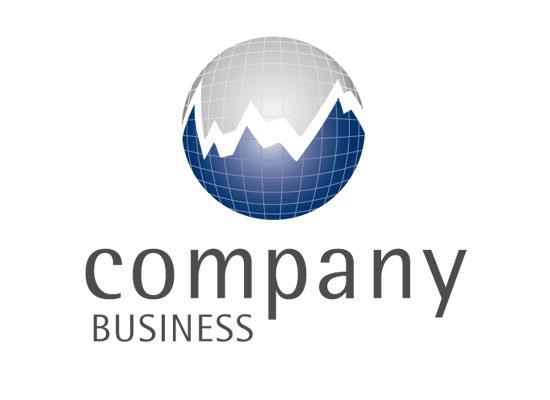Finance Logo, Logo für Finanzmakler oder Steuerberater