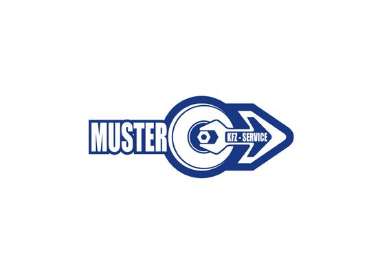 Werkstatt Logo mit Pfeil