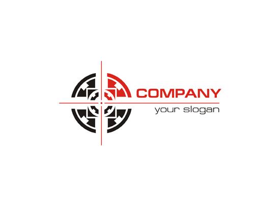 Zielscheibe - Logo für Schiessverein