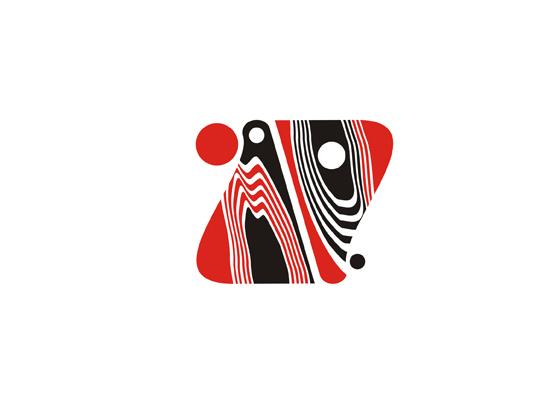 Logo mit Ornamenten