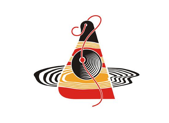 Modeschmuck Logo mit Ohrring