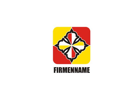 Wappen Logo - Rot und Gelb