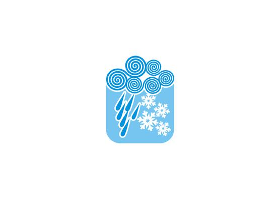 Wolken, Regen und Schnee - Tolles Wetter Logo