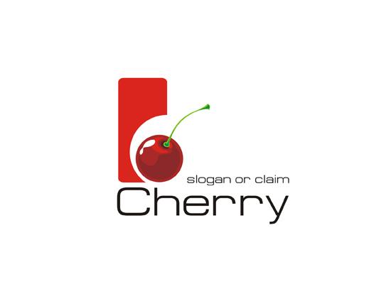 Logo mit Kirschen