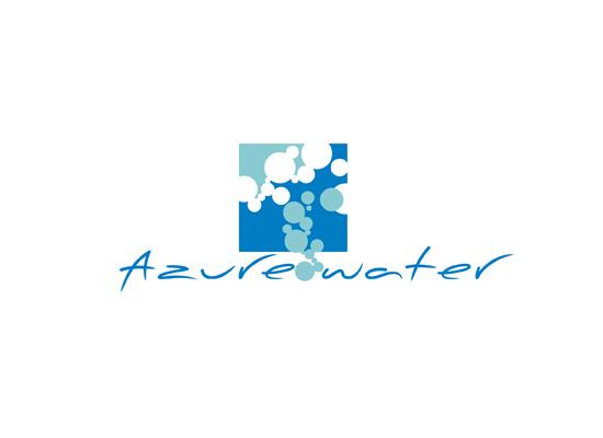 Logo mit Wasserblasen - Logo f�r Reinigung