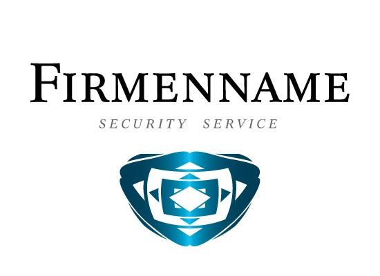 Wappen, Schild, für Sicherheitsdienste