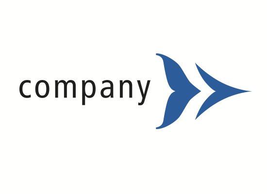 Flosse Pfeil Logo
