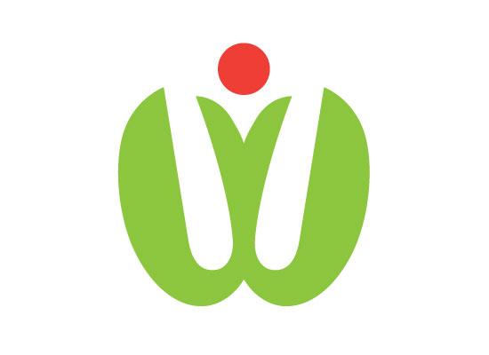Logo florales W
