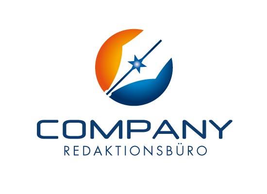 Logo f�r Schriftsteller oder Autor
