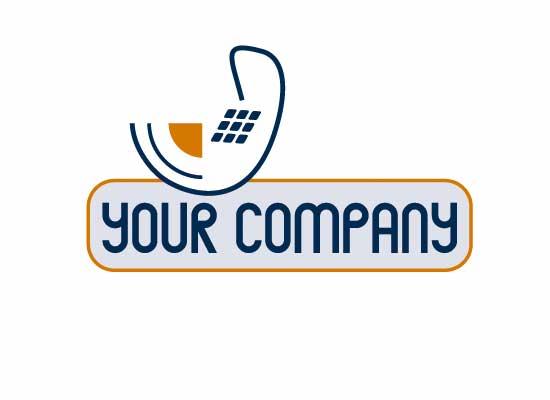 Telefonhörer - Logo für Telekommunikation