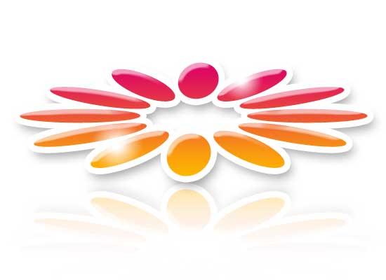 Mit blume logo