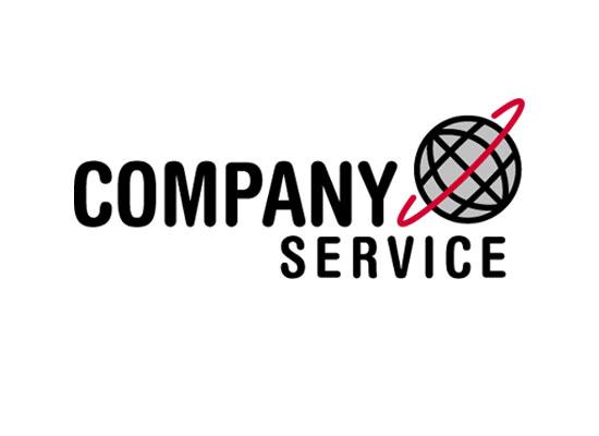 Globus Kugel Erde Umwelt Umweltschutz Rot Grau Logo