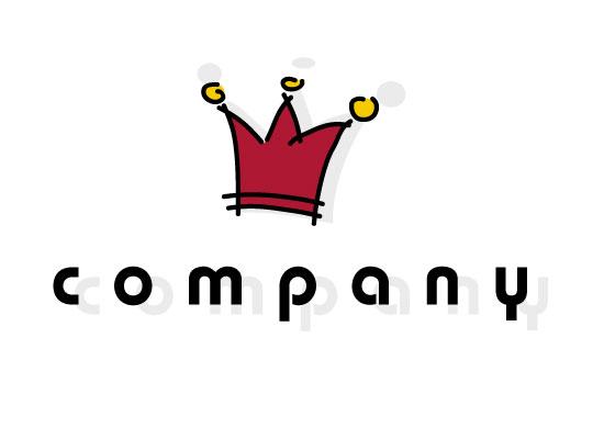 Krone Schmuck Hotel König Königin Prinzessin Prinz Logo Rot Rubin