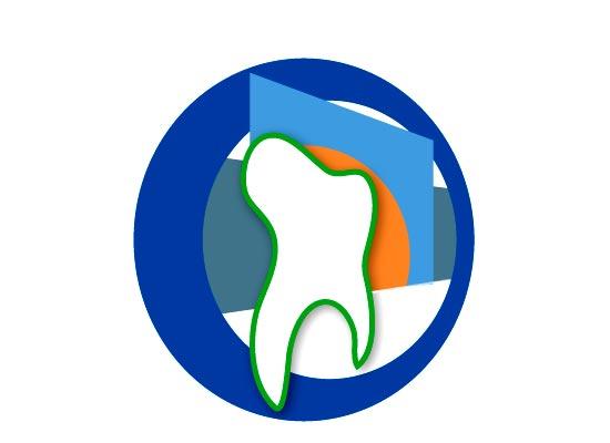Zahn im Kreis Logo