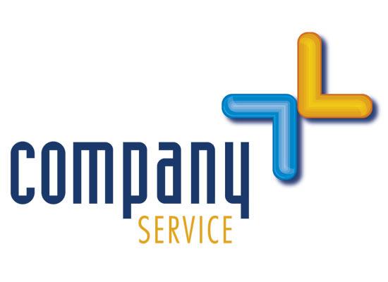 Logo mit Pfeilen