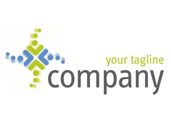 Logo mit Pfeilen z.B. fuer Cargo