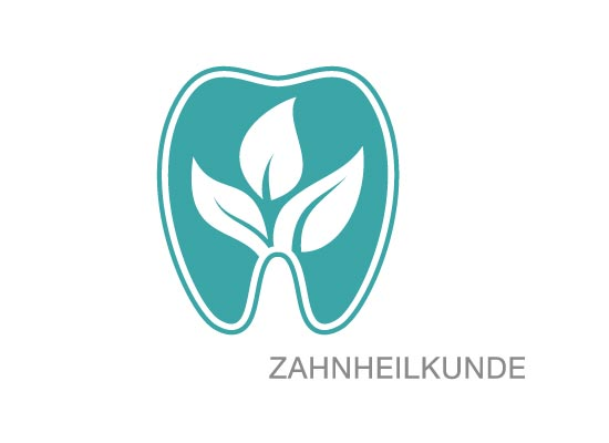 Logo, Zahnarzt, Dental, Pflanze