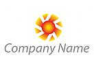 Zeichen, Skizze, Logo, Coaching, Consulting, Beratung, Energie, Sonne