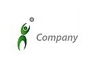Zeichen, Skizze, Mensch, Person, Sport, Fitness, Logo