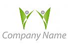 Zweifarbig, Zeichen, Zeichnung, Symbol, Personen, Paar, Coaching, Consulting, Beratung, Logo
