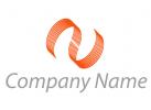Zwei Spirale, Spirale, Linien, Consulting, Logo