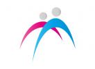 Zwei Personen, Paar, Menschen, Beratung, Logo