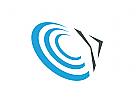 Zeichen, Zeichnung, Symbol, Pfeil, Kreise, Logo