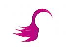 Zeichen, Zeichnung, Symbol, Haare, Frisör, Kosmetik, Logo