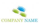 Viele Rechtecke, Consulting Logo