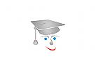 Schule, Gesicht, Kopf, Logo