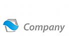 Zeichen, Zeichnung, Welle, Coaching, Consulting, IT, Beratung, Logo