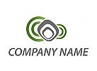 Netzwerk, Multimedia, Kommunikation Logo
