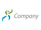 Wellnes, Physiotherapie, Orthop�die, Logo