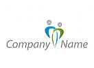 Zwei Personen, Coaching, Consulting, Beratung, Logo