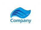 Wellen, Wasser Logo