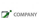 Zeichen, Zeichnung, Symbol, Pfeil, Kugel, Coaching, Consulting, Beratung, Logo