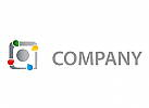 Zeichen, Skizze, Logo, Druckerei, Copyshop, Tropfen