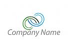 Zwei Spirale, Wellness, Beratung, Logo