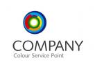 Logo Farbspektrum im Kreis