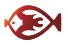 Feuerfisch für Fischrestaurant Logo