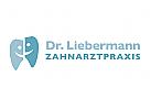 Zahnarzt und Patient Logo