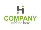 """logo mit anstraktem """"H"""""""