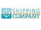 Schiffsruder, Steuerrad. Seetransport und Seefahrt