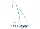 Boots- & Yachthandel, Segelsport, modern, stilisiert, Charter, Yachtcharter