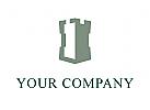 Finanzen Versicherung Sicherheit Stabilität Logo