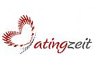 Schmetterling - Herz Logo