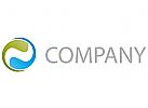 Zwei Spiralen Logo