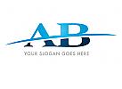 Zeichen, Signet, Logo, A, B