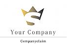 Krone Buchstabe S Logo